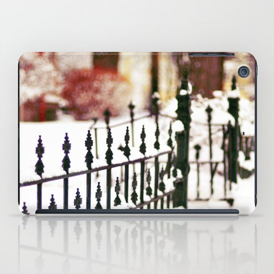 November Snow iPad Case