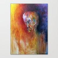 Deciding Canvas Print