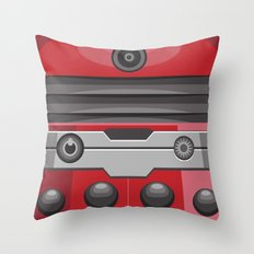 Dalek Red - Doctor Who Throw Pillow