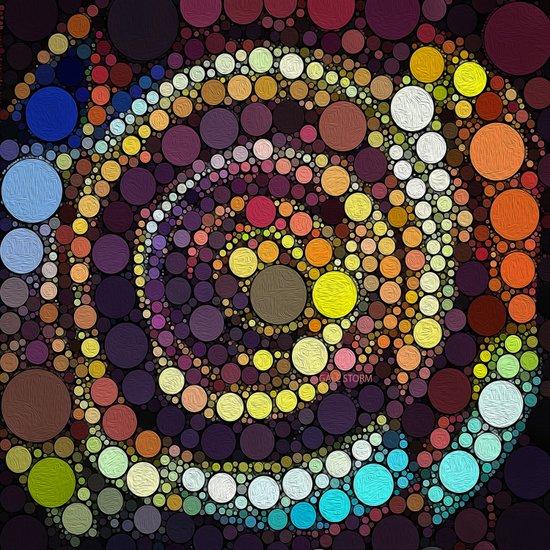 :: Crop Circle Circus :: Art Print