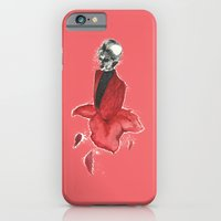 iPhone & iPod Case featuring Petal Girl by M. Everitt
