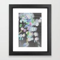 Inverted Decor Framed Art Print