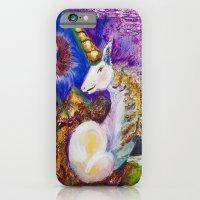 unicorn iPhone & iPod Cases featuring Unicorn by CrismanArt