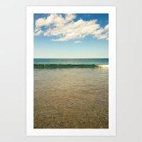 Clear Ocean Water Art Print