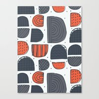 Wedges Canvas Print