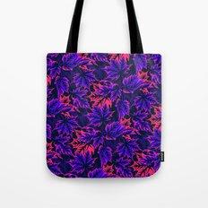 Leaves - purple/pink Tote Bag