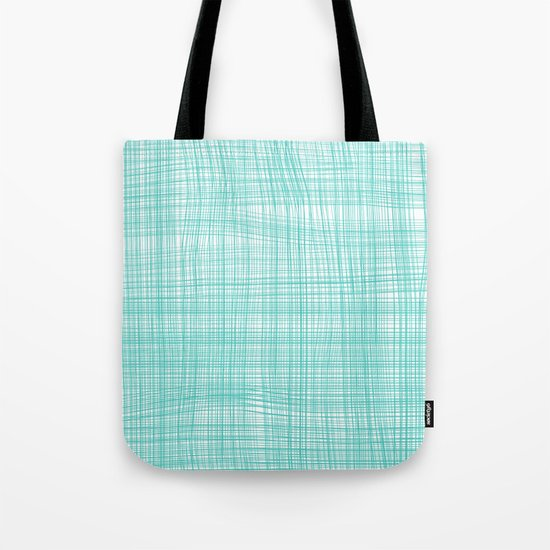 Turquoise Small Ring Tote Bag 39