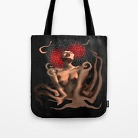 OCTO-PUSSY Grunge  Tote Bag