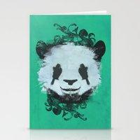 Pretty Panda Stationery Cards