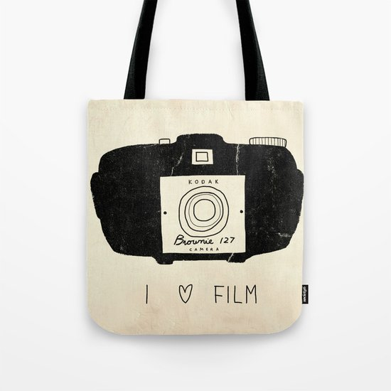 I Love Film Tote Bag