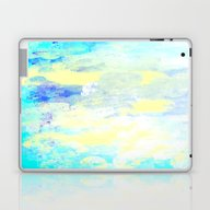 Laptop & iPad Skin featuring Blue Abstract by Jessielee