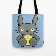 Hello Totoro Tote Bag