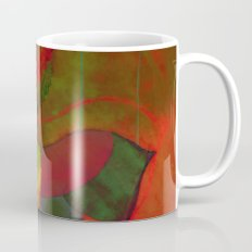 peaceful and happy Mug