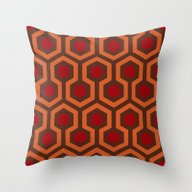 The Shining Carpet Throw Pillow