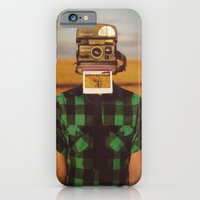 iPhone Cases featuring I See What You See by James Docherty