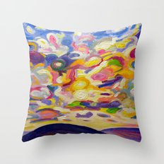 Okanagan Sky Throw Pillow