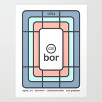Bor Single Hop Art Print