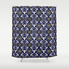 Doves Patterns Shower Curtain