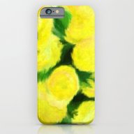 Yellow Flowers II iPhone 6 Slim Case