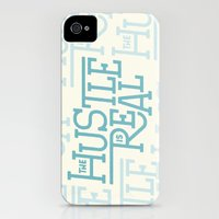 iPhone Cases featuring The Hustle is Real by Josh LaFayette