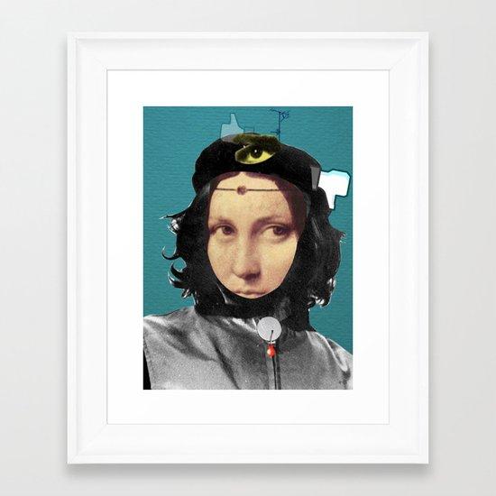The Da VinChe Framed Art Print