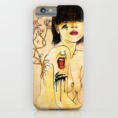 Portrait - asian woman iPhone 6 Slim Case