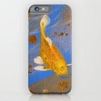 Pair Of Golden Koi iPhone 6 Slim Case