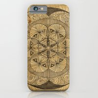iPhone & iPod Case featuring Mandala Dust by Work the Angle