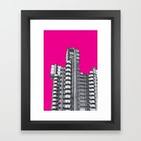 London Town - Lloyds of London Framed Art Print