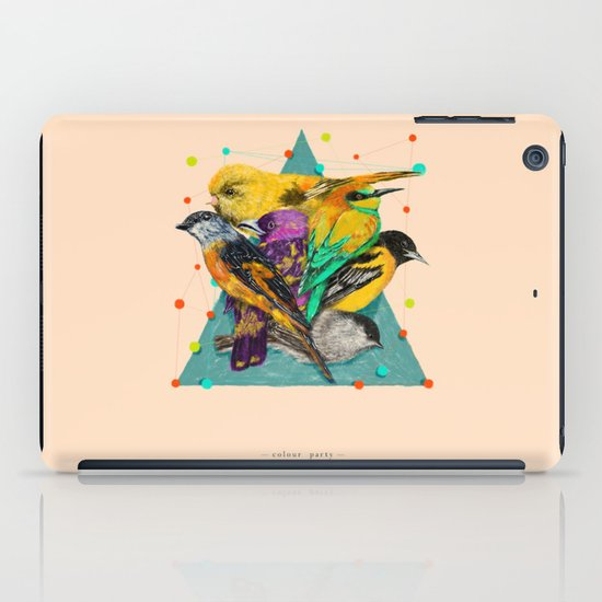 Colour Party iPad Case