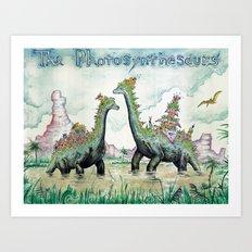 Photosynthesaurs Art Print