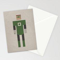 Retro Green Lantern Stationery Cards