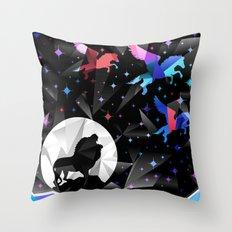 Magical Pegasus Throw Pillow