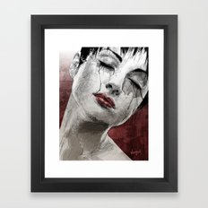 Venom and Tears Framed Art Print