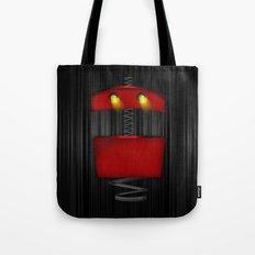 Tin Droid Tote Bag