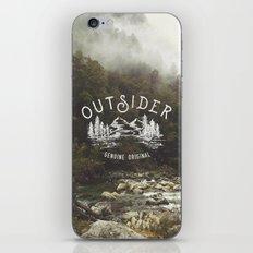 Outsider iPhone & iPod Skin