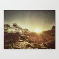 Ireland Sunset Canvas Print