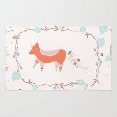 fox & grapes Rug