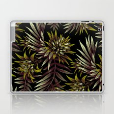 Aechmea Fasciata - Dark Green / Brown Laptop & iPad Skin