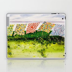 quilts along the bay Laptop & iPad Skin