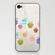 Christmas Balls iPhone & iPod Skin