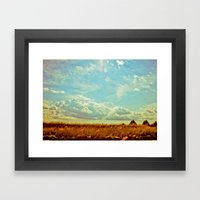 Shooting the Breeze 2.0 Framed Art Print