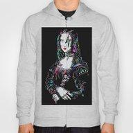 Metal Mona Lisa Hoody