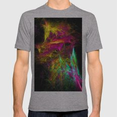 Magical Lights Mens Fitted Tee Athletic Grey SMALL