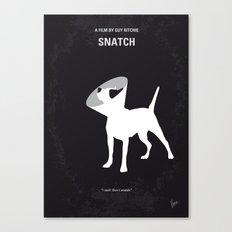 No079 My Snatch minimal movie poster Canvas Print