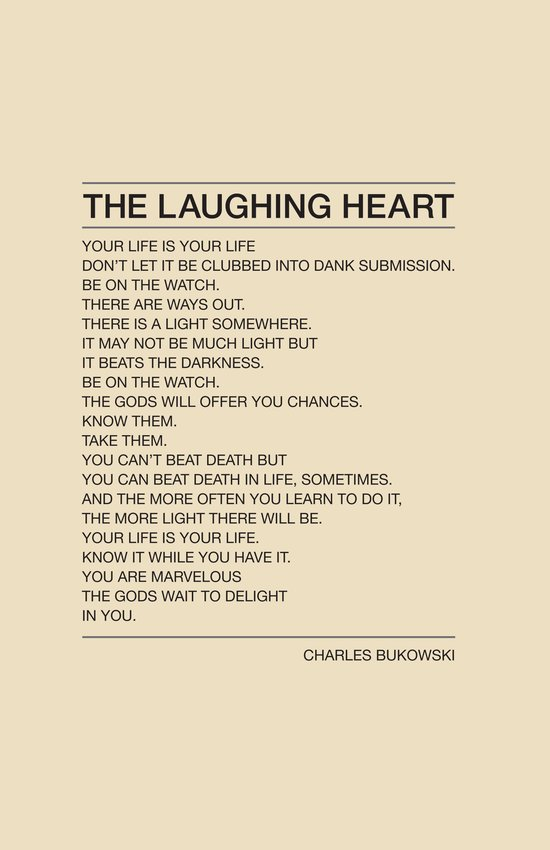 The Laughing Heart Art Print