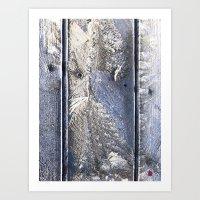 Frost Owl Art Print
