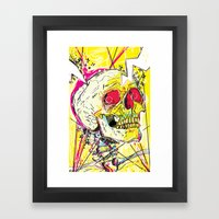 Ain't No Grave Framed Art Print