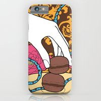 iPhone & iPod Case featuring macarons 04 by Marica Zottino