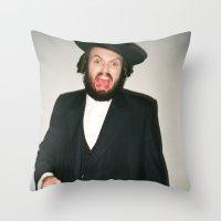 Rabbi Carlos Throw Pillow